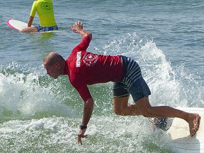 tim jones surfing
