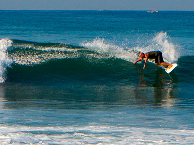 control in surfing