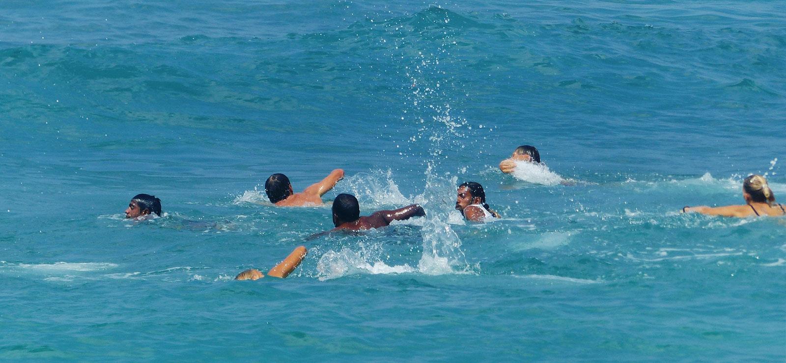 isa swimming test